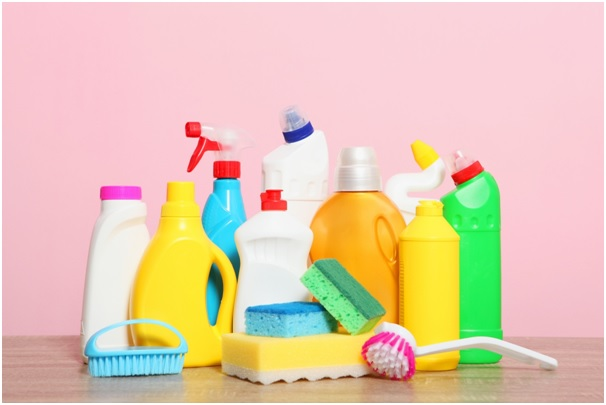 Natural cleaning products for perfect home cleaning
